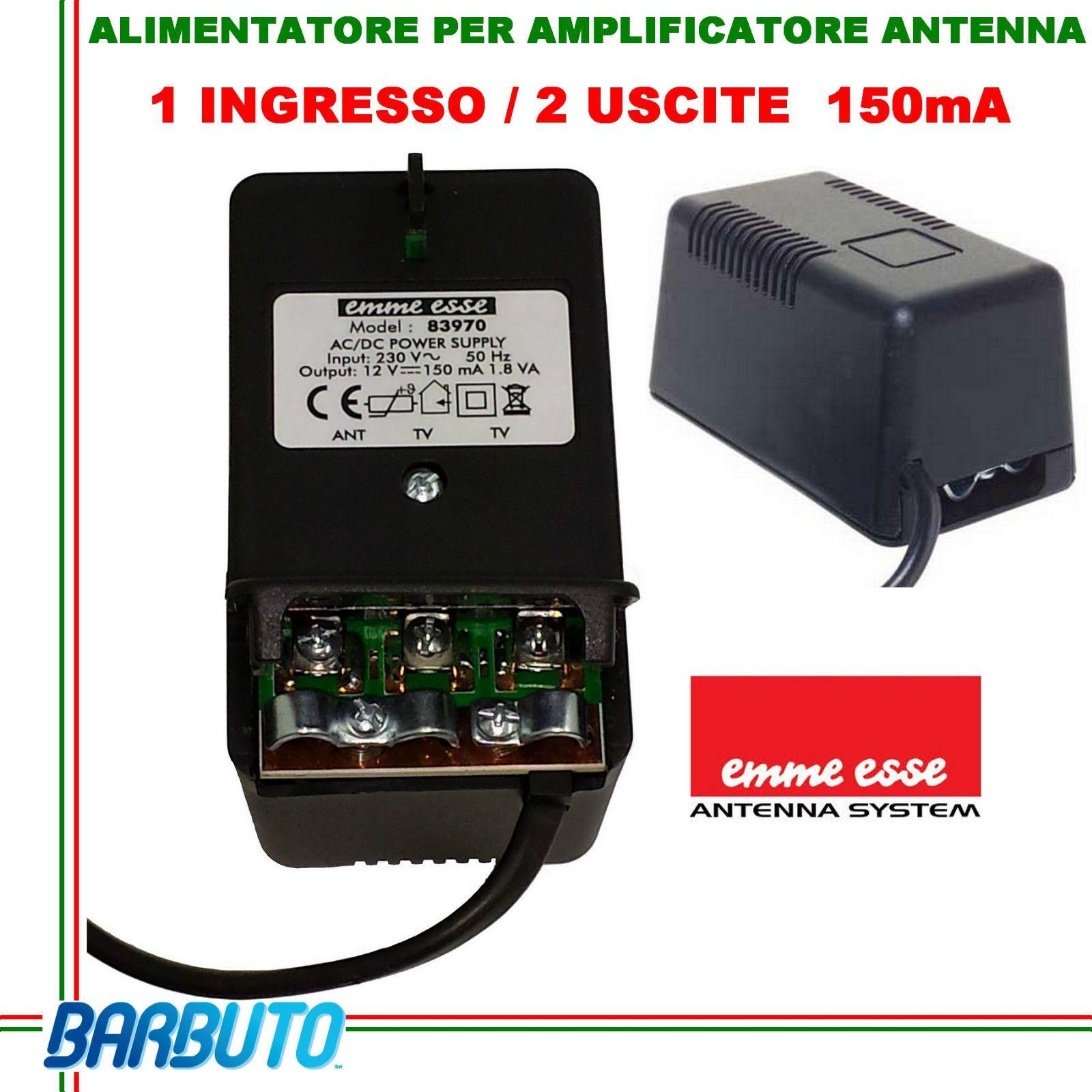 Schema Elettrico Per Antenna Tv : Alimentatore tv amplificatore antenna terrestre v