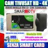 CAM TivuSat HD 4K* UNIVERSALE CI+ WIFI, ORIGINALE TIVUSAT - SENZA SMART CARD