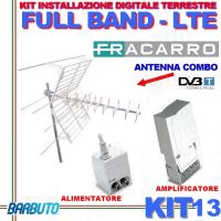 FRACARRO KIT 13 CON ANTENNA BLU COMBO LTE + MAP 115 LTE + MINI POWER 12P 217933