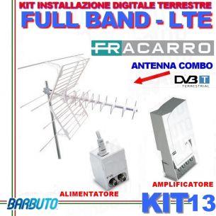 FRACARRO KIT 13 CON ANTENNA BLU COMBO LTE + MAP 115 LTE + MINI POWER 12P 217933