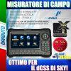MISURATORE DI CAMPO dCSS H265 HEVC HD DVB-S/S2 DVB-T/T2 DIPROgress DPMAX2