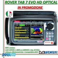 MISURATORE ROVER HD TAB7 EVO TOUCH OPTICAL E DCSS PER FREQUENZE 4 - 2.250 MHz