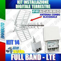FRACARRO KIT 14 EVO CON ELIKA COMBO + MAP2r3+U LTE + MINI POWER 12P COD 217946