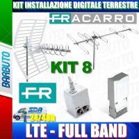 FRACARRO KIT 8 EVO LTE CON ELIKA + BLV6 + MAP3r3UU + MINIPOWER 12P COD 217940