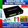 MODULATORE DIGITALE TERRESTRE 1X HDMI - DVB - T + OUT HDMI + IR EmmeEsse 87430