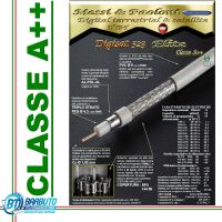 25 mt DI CAVO TV E SAT DIGISAT 523 ELITE MARCA Messi & Paoloni Ø 6mm CLASSE A++