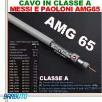 CAVO TV E SAT AMG 65 ELITE MARCA Messi E Paoloni Ø 6,5mm (100 METRI)
