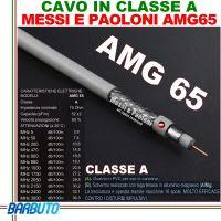 CAVO TV E SAT AMG 65 ELITE MARCA Messi E Paoloni Ø 6,5mm (100 METRI)