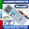 TELECOMANDO UNIVERSALE PER CLIMATIZZATORI DELONGHI (BATTERIE INCLUSE)