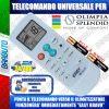 TELECOMANDO UNIVERSALE PER CLIMATIZZATORI OLIMPIA SPLENDID (BATTERIE INCLUSE)