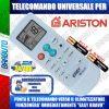 TELECOMANDO UNIVERSALE PER CLIMATIZZATORI ARISTON (BATTERIE INCLUSE)