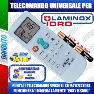 TELECOMANDO UNIVERSALE PER CLIMATIZZATORI LAMINOX (BATTERIE INCLUSE)