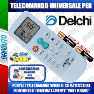 TELECOMANDO UNIVERSALE PER CLIMATIZZATORI DELCHI (BATTERIE INCLUSE)