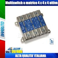 MULTISWITCH 4 USCITE, REGOLABILE 0/-10dB PASSANTE 4 IN E 4 OUT