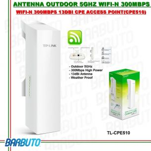 ANTENNA WIRELESS 5GHz WLAN OUTDOOR ESTERNO INTERNO ACCESS POINT CPE510