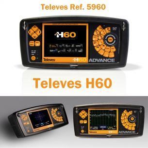 Misuratore di Campo TV E SAT - Misuratore di campo H60 ADVANCE (Full HD + CI + F.O. + Spettro Esteso 5...3300MHz)