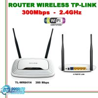 ROUTER WIRELESS N 300 LAN, IDEALE PER LINKEM, ACCESS POINT TL-WR841ND TP-LINK