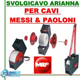 SVOLGICAVO / SMATASSATORE / SBOBINATORE CAVO - MESSI E PAOLONI - MOD. ARIANNA