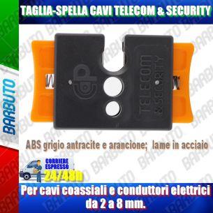 TAGLIA SPELLA CAVI PER CAVO COASSIALE O ELETTRICO DA 2 A 8mm DI DIAMETRO