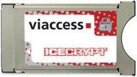 CAM VIACCES MODULE ICECRYPT PER CARD VIACCES PER DECODER E TV SATELLITARE CI