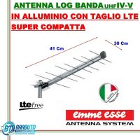 ANTENNA DIGITALE TERRESTRE HD MINI EMMEESSE UHF LOG SYSTEM ANTI INTERFERENZE EMMEESSE 2160 CMD