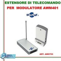 KIT ESTENSORE DI TELECOMANDO WIRELESS, UTILIZZABILE PER MODULATORE 55/9890 DIGITSAT