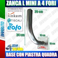 "SUPPORTO A MURO AD ""L"" MINI ADATTO PER LINKEM E ANTENNE OUTDOOR SPM30CR-NOCP_V2"