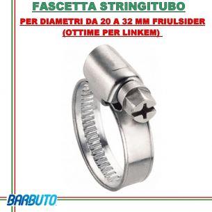 FASCETTA STRINGITUBO PER DIAMETRI DA 20 A 32 MM FRIULSIDER (OTTIME PER LINKEM)