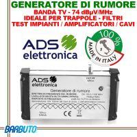 GENERATORE DI RUMORE BANDA TV ED OLTRE, IDEALE PER TRAPPOLE, FILTRI, TEST IMPIANTI / AMPLIFICATORI / CAVI