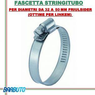 FASCETTA STRINGITUBO PER DIAMETRI DA 32 A 50 MM FRIULSIDER (OTTIME PER LINKEM)