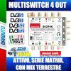 MULTISWITCH 5x5x4 USCITE ATTIVO SERIE COMPACT MIX TERRESTRE COD. 80394K EMMESSE