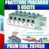 PARTITORE 5 USCITE A MORSETTI E MOLLA SAT E TERRESTRE FRACARRO PA5M COD. 287459