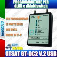 Programmatore dLNB/dMultiswitch V.2- USB con tasto PROGRAM esterno
