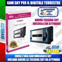 CAM SKY HD RIGENERATA PER IL DIGITALE TERRESTRE, WI-FI E CON TESSERA SKY INCLUSA