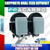 SUPPORTO DUAL FEED DFPDIGIT PER PARABOLA FRACARRO PENTA DIGIT 68 CM