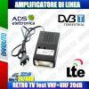 AMPLIFICATORE DI LINEA 1 OUT 20dB