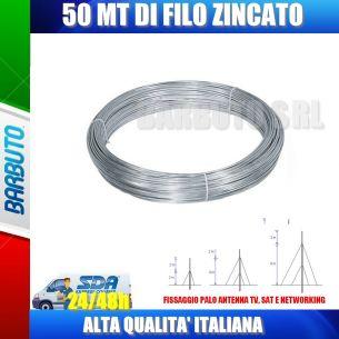 FILO ZINCATO 1,2 mm 50 MT (TIRANTI)