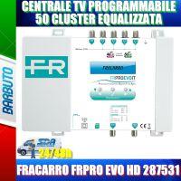 CENTRALE TV PROGRAMMABILE 50 CLUSTER EQUALIZZATA FRACARRO FRPRO EVO 287531
