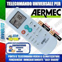 TELECOMANDO UNIVERSALE PER CLIMATIZZATORI AERMEC (BATTERIE INCLUSE)