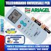 TELECOMANDO UNIVERSALE PER CLIMATIZZATORI ARIAGEL (BATTERIE INCLUSE)