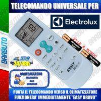 TELECOMANDO UNIVERSALE PER CLIMATIZZATORI ELECTROLUX (BATTERIE INCLUSE)