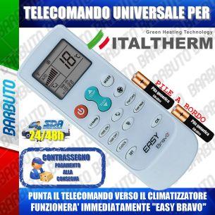 TELECOMANDO UNIVERSALE PER CLIMATIZZATORI ITALTHERM (BATTERIE INCLUSE)