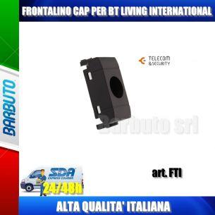 FRONTALINO BT LIVING INTERNATIONAL PER CONNETTORE CAP