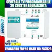 CENTRALE TV PROGRAMMABILE 30 CLUSTER EQUALIZZATA FRACARRO FRPRO LIGHT HD 287523