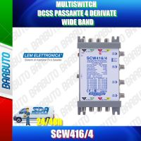 MULTISWITCH DCSS SKY PASSANTE 4 DERIVATE WIDE BAND