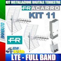 FRACARRO KIT 11 EVO LTE 2 antenne ELIKA + MAP3r3UU + MINIPOWER 12P COD 217943