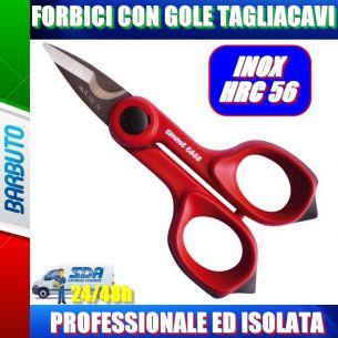 FORBICI SPELLACAVI PROFESSIONALE - ISOLATA INOX HRC 56 - TOP QUALITY - EMMEESSE