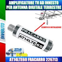 AMPLIFICATORE TV AD INNESTO PER ANTENNA TERRESTRE AT14LTE60 FRACARRO 226713
