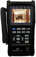 """Tester per Videosorveglianza - CCTV, AHD, TVI, CVI display da 3.5"""" + funz. test cavi di rete"""