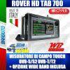MISURATORE DI CAMPO ROVER HD TAB 700 TOUCH DVB-S/S2 DVB-T/T2 EVOLUTO CON BATTERIA MAGGIORATA